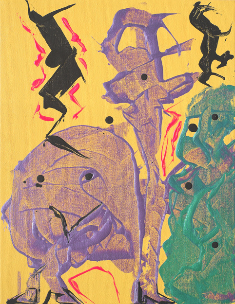 creatures, animals, metallic acrylic,