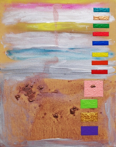 bar code, rothko surprise #43,