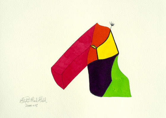 color blocks, stephen neil gill,